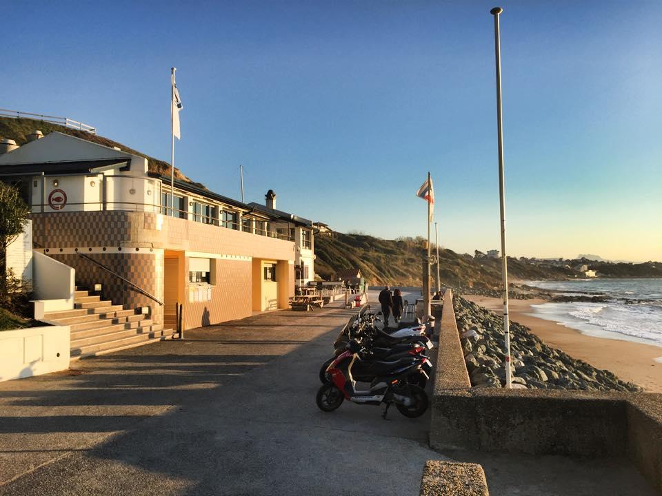 restaurant de poissons bidart tantina de la playa